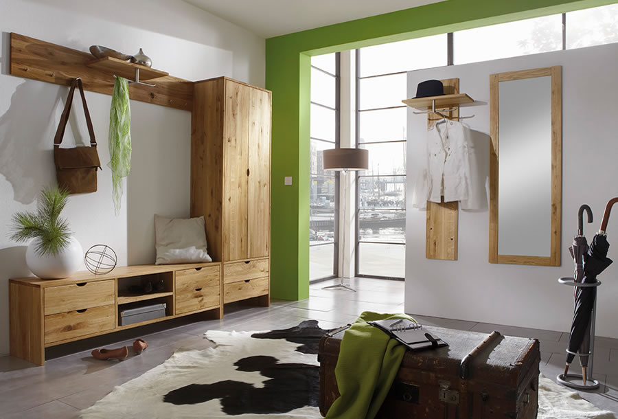 holz garderobe kaufen nach ma dan natura ludwigsburg tamm naturholzm bel m belladen. Black Bedroom Furniture Sets. Home Design Ideas